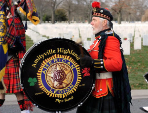 Amityville Highland Pipe Band @ Pearl Harbor Day Memorial