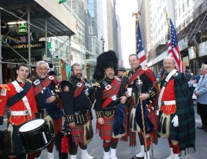 Amityville Highland Pipe Band @ NYC St. Pat's Parade