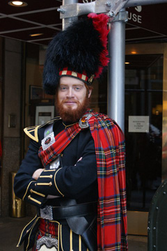 TJ White : Leadership Role - Pipe Major