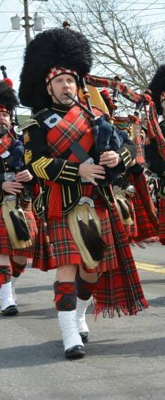 Chris Beresford : Retired Pipe Major / Life Member