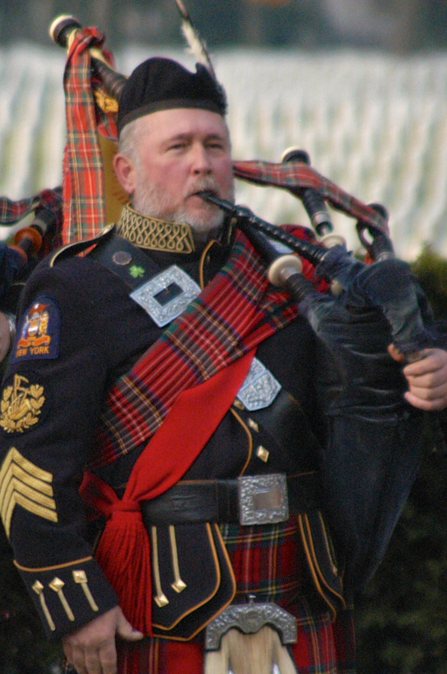 Roland Davidson : Leadership Role – Band Treasurer / Retired Pipe Major