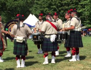 Scottish Games 2016 – Drum Salute